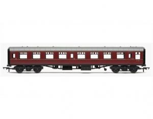 Hornby R4627 [RAILROAD] BR Mark 1 2nd Open, Maroon Livery